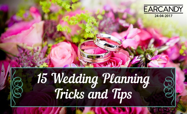 15 Wedding Planning Tricks and Tips