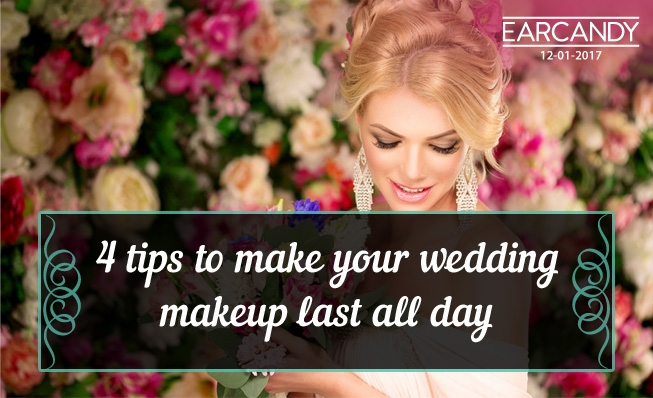 4 tips to make your wedding makeup last all day