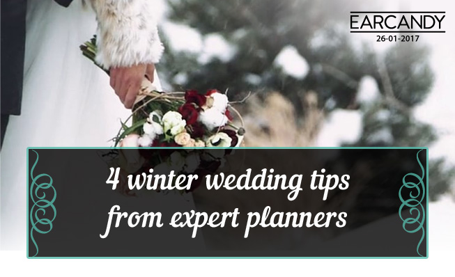 4 winter wedding tips from expert planners