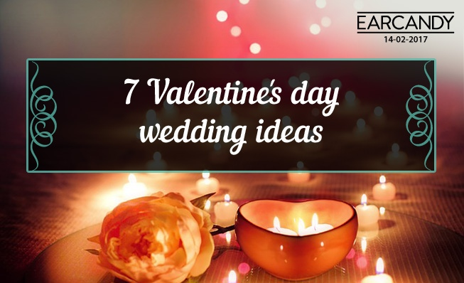 7 Valentine's day wedding ideas