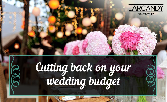Cutting back on your wedding budget