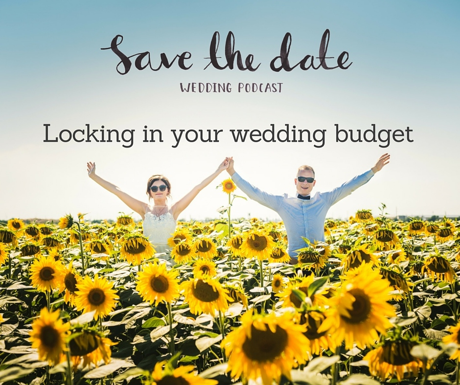 Locking in your wedding budget