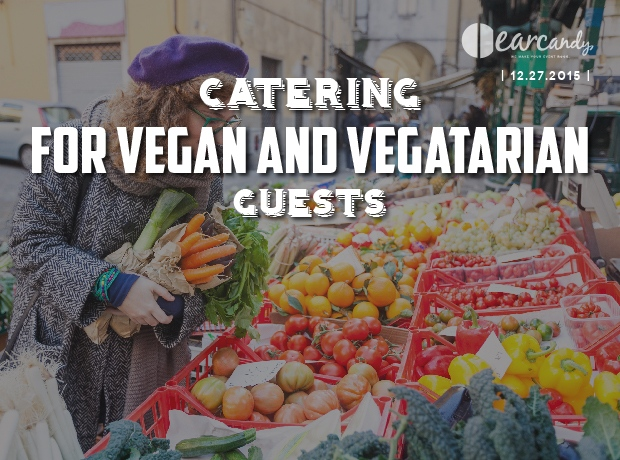 How to have a vegetarian wedding and catering for vegan guests