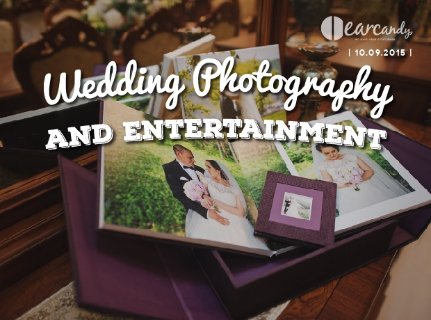 Combining your wedding photography and entertainment