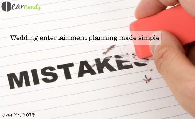Wedding entertainment planning made simple