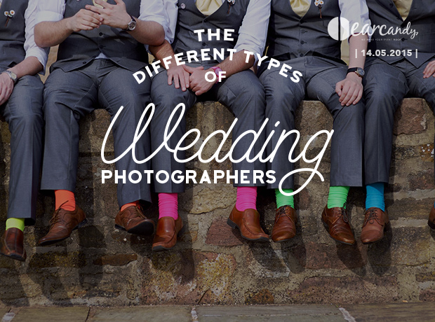 The Different Types of Wedding Photographers