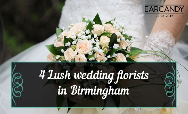 4 Lush wedding florists in Birmingham